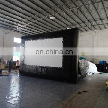 HI 2017 high quality outdoor inflatable movie screen for sale