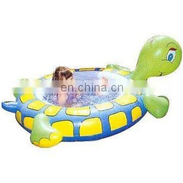 infateble tortoise shape bathtub for kids