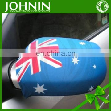 2016 EUFA custom hot sell polyester print promotional car mirror flag