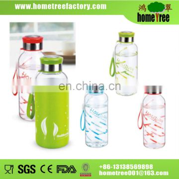 2014 hot sale glass bottle wholesale 430ml