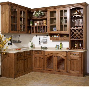 Solid Shaker Kitchen Cabinet