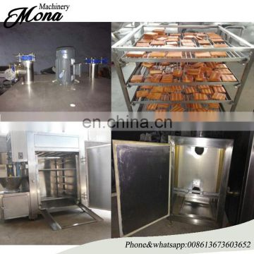 High Quality Smoking Bacon Machine for Chicken Bacon and Sausage