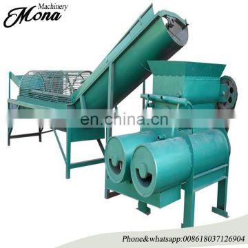 high starch extraction cassava processing machines/lotus root starch extraction machine