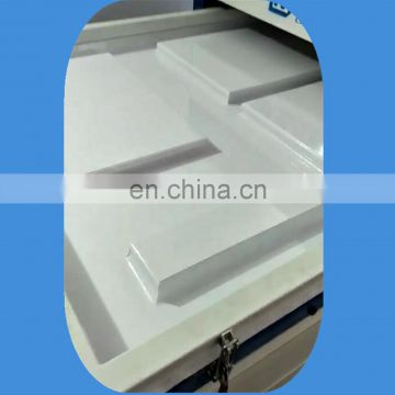 Automatic hot glue wrapping machine for window and door
