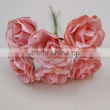 Handwork Colorful Paper Flower Chocolate Flower Candy Box