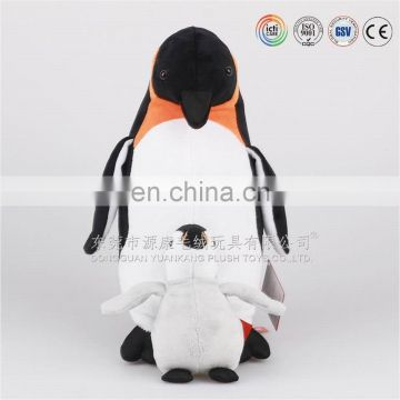 Jolly penguin race toy mother and baby penguin toys