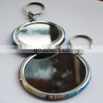 Beauty single side custom decorative pocket makeup mirror