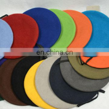 Wool military beret hats army beret military caps and beret