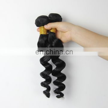 Youth Beauty Hair Best Saling Wholesale 7A grade top quality 100% virgin Brazilian hair loose wave hair weaving