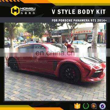 Msory design style carbon fiber FRP full set bumper kit for porsch panamer 2014 2015 2016 971 body kit