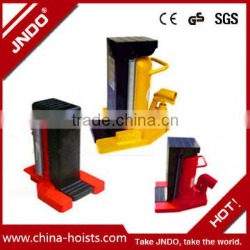 Capacity 1.5T to 30t Hydraulic claw jack for construction, high lift hydraulic car jack made in China