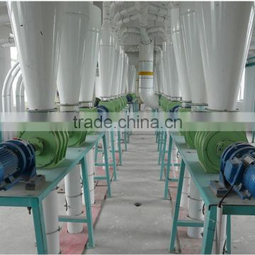 Professional large capacity structure wheat milling equipment