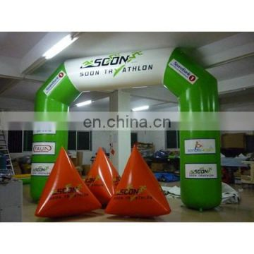2016 new arch and water buoy ,inflatable air arch, inflatable arch, airtight arch
