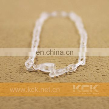 Decorative plastic Stainless Steel Ball Chain For Hang Tag