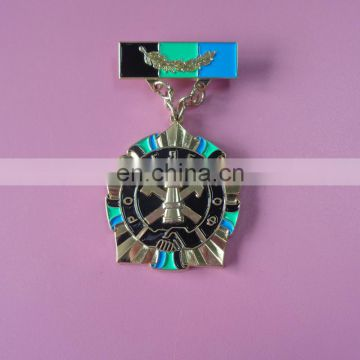 hot sale Russia feature holiday souvenir memorial gifts soft enamel 3D metal medal