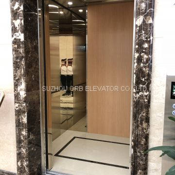 Passenger Elevator for Plaza, High Speed Commercial Elevators with Machine Room, Competitive Price MRL Elevators