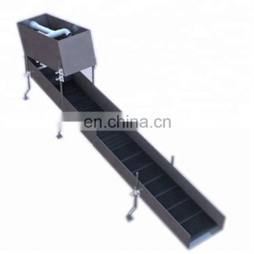 High capacity highbanker portable gold sluice with gold trommel wa