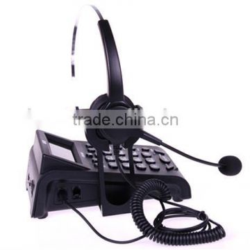 Dial pad Call Center Headset Telephone with noise cancelling headset                                                                         Quality Choice