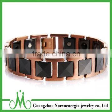 High quality tungsten jewellery magnetic health bracelet wholesale fashion tungsten bracelet for sale