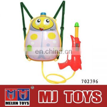 NEW Design backpack water gun toy cartoon kids toy gun for sale 2015