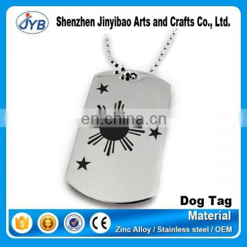 Shenzhen factory high quality wholesale custom metal luggage tag