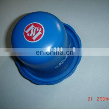Custom Printed plastic advertising promotion game dice cup with lid, game dice cup,dice cup with lid