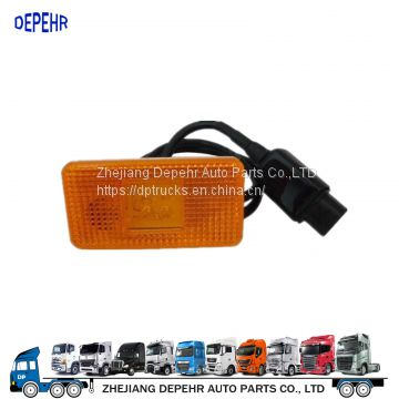 Zhejiang Depehr Heavy Duty European Tractor Body Parts Corner Light Scania Truck Side Marker Lamp 1391144