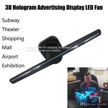 3D LED hologram fan indoor holographic display of 3D Holographic