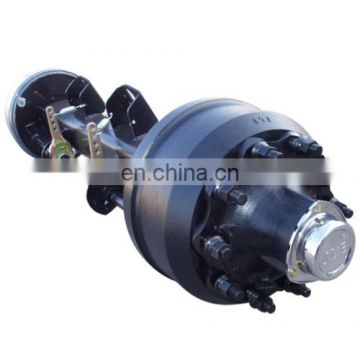 spare parts rear english type trailer axle with 10 hole