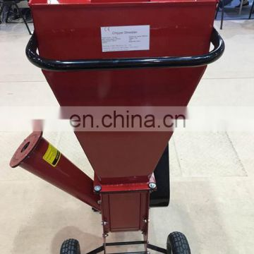 Industrial wood shredder chipper mobile wood pulverizer machine