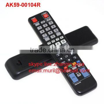 Black 48 KeysSamsung blu-ray DVD remote Control AK59-00104R BD-C5500  BD-C7500 BD-6900 direct use Do not need to set up