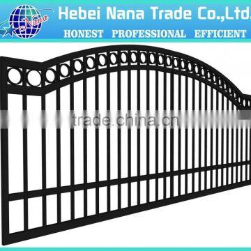 House Iron Gate Design Steel Sliding Gate Aluminum Fence Gate