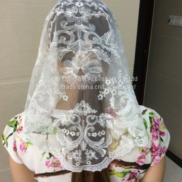 Spanish Traditional Lace Mantilla Classical Lace Mantillas Veil