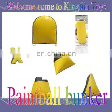 0.9MM PVC inflatable paintball/paintball bunkers
