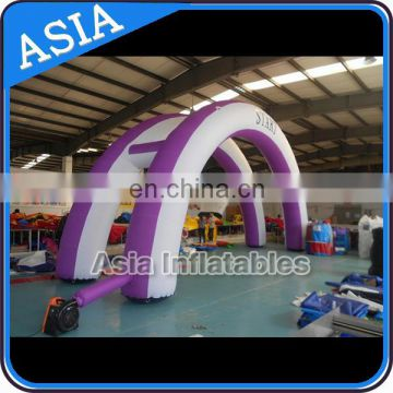 Double Promotion Arch Inflatable For Market Advertising