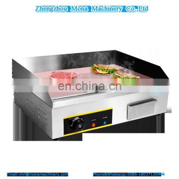 MONA Best Price Products Kitchen Equipment Full Grooved Electric Teppanyaki Griddle For Sale