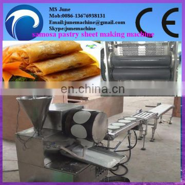 High capacity Stainless steel spring roll sheet making machine