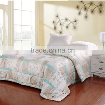 2015 wholesale cheap polyester silk fabric for making flat sheet\bed duvets with patterns in 3d