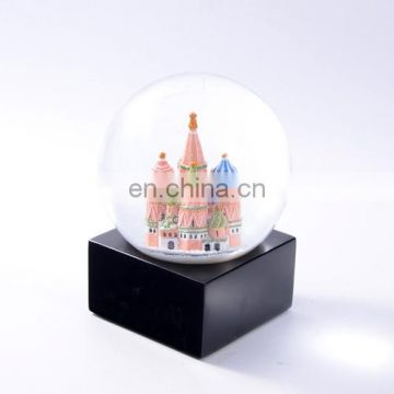 Customized tower snow globe souvenir snow globe