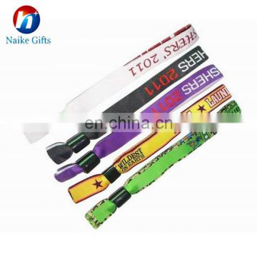 Cheap Custom Fabric Wristbands For Events