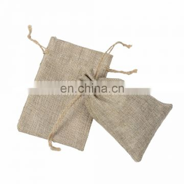 Wholesale eco biodegradable small hessian bag