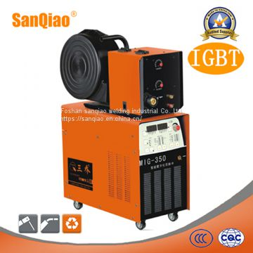 Double Pulse Industrial Use Digital Panel CO2 MIG Mag MMA Welding Machine (MIG-350)