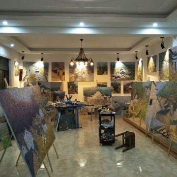 yuyao city zhongchangshan Oil Painting Studio