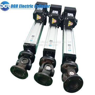 High Quality Precision Ball Screw Lifting Electric Cylinder DC Servo Low Noise Electric Linear Actuator