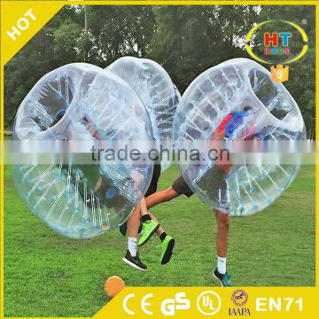 commercial bubble ball for football inflatable Human Bubble bumper Ball for kid and adult