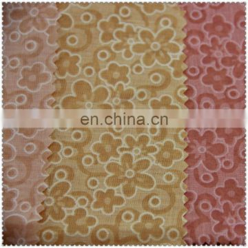 print burn out fabric 80 polyester 20 cotton fabric