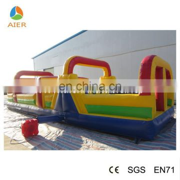 2015 Newest giant Obstacle Course for kids, Inflatable Obstacle Courses