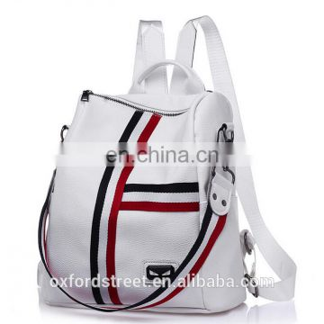 2017 new Chinese style pu backpack leisure travel backpack
