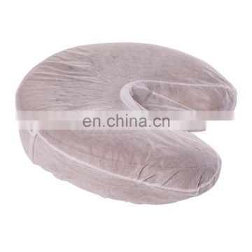 disposable fitted face rest cover for spa