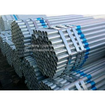 S235 S275 Carbon seamless / welded galvanized steel pipe, GI tube